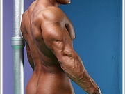 Omar Fabrouk stripping and posing