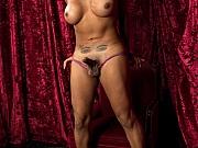 TS Jessy Dubai big tits brunette handjobs her big cock