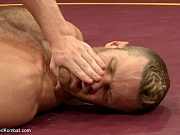Toned jocks struggle for blowjob supremacy in the ring