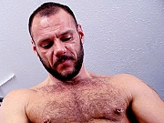 Hot Gay Bear Masturbating