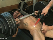 Workout bondage and torture sex with Trenton Ducati