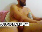 The Arab gay, bearded sex addict. Handsome Anis has never enough of gay sex