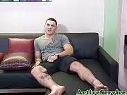 Bigcock soldier masturbating solo on the sofa