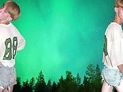 Gay Skinny Teen boys Shorts Jockstrap underwear Leather