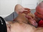 Beefy Str8 Dick Yields A Deep Gulp Of Cum.