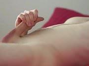 Masturbate on bed till cum