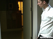 Horny Mormon Boy Jerks Off To His Jock Roommate Jerking Off I