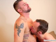Tattooed mature bear gets plowed bareback