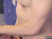 Big dick gay spanking and facial 7m
