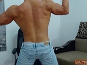 Muscle gay rimjob with cumshot xu