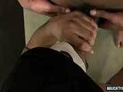 Huge cock gay anal sex with facial