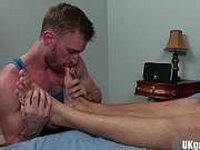 Hairy jock flip flop and swap bo