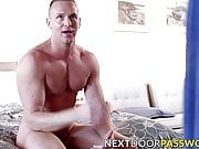 Naughty hunk Adam Gregory gives raw dicking and blowjob