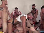 Muscle son fetish and cum eating
