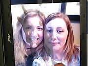 Cum tribute for amy and her friend