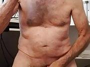 Old man masturbator