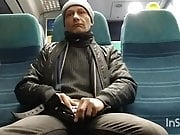 Cock out on the train home