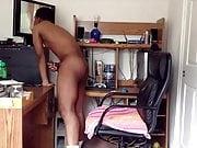 BBC Cumms Hard Watching my Teen Girlfriend Showering Cuckold