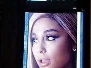 Ariana Grande cum tribute #7