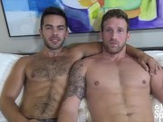 JasonSparksLive - Hairy jock Riley Ross fucks Logan Carter bareback