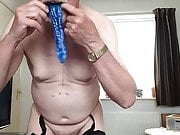Slave eating cum ( his first load )