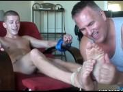 Hot ticklish boys feet