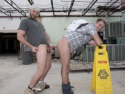 GAYWIRE - Corey Rezzon and Seth Michaels Do The Nasty Out In Public