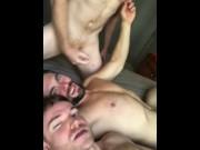 Gay Threesome Griffin Barrows, Leander, Gabriel Cross